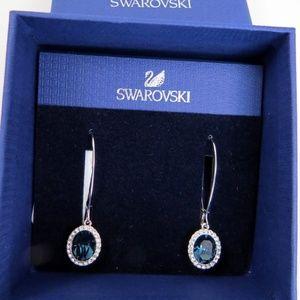 New Swarovski Crystal CHRISTIE PE LNG Earrings